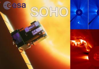 Attività solare in tempo reale (NASA ESA SOHO NOAA)